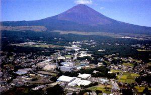 富士山の麓・御殿場工場